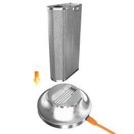 PEGASUS 70W SILVER + chargeur à induction - ASPIRE