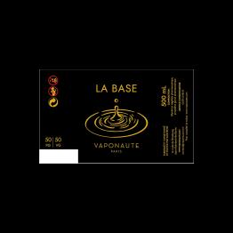 BASE 500ML 50/50 00MG - VAPONAUTE - GAIATREND