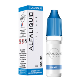 USA MIX Tabac ALFALIQUID 10 ml