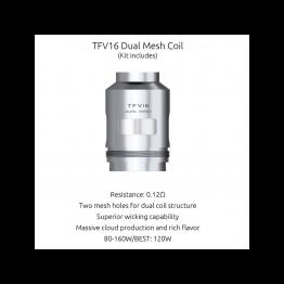 RESISTANCES TFV16 0.12ohm (3PCS) - SMOKTECH